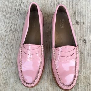 WEEJUNS WHITNEY PATENT LEATHER PENNY LOAFERS, 37